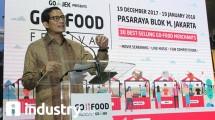 Wakil Gubernur DKI Jakarta, Sandiaga Uno dalam Acara Go-Food Festival di Pasaraya, Blok-M (Foto: Rahmat Herlambang/Industry.co.id)