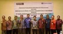 Perum Jamkrindo Jamin Kredit Nasabah Bank Sultra (Foto Anto)