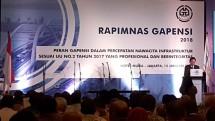 Ketua Umum BPP Gapensi, H. Iskandar Z. Hartawai. (Foto Dina)