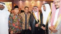 Menhub Budi Karya Sumadi dan pengusaha Arab Saudi (Foto Dok Industry.co.id)
