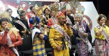 Kontestan Liga Dangdut Indonesia (LIDA) Indosiar yang datang dari 34 Provinsi di Indonesia (Foto: AMZ)