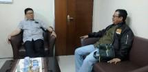 Ketua Dewan Pers Yosep Adi Prastyo bersama Ketua Panitia Pelaksana Natal Bersama Dar Edi Yoga (Foto Dok Industry.co.id)