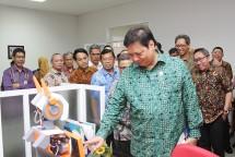 Menteri Perindustrian, Airlangga Hartarto saat acara peresmian Bandung Techno Park (Foto: Humas)