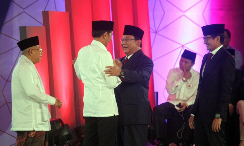 Akhir Debat Pertama Pilpres 2019