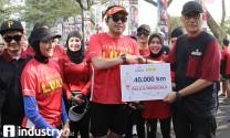 Artha Graha dan Indorunners Peduli Palu dan Donggala