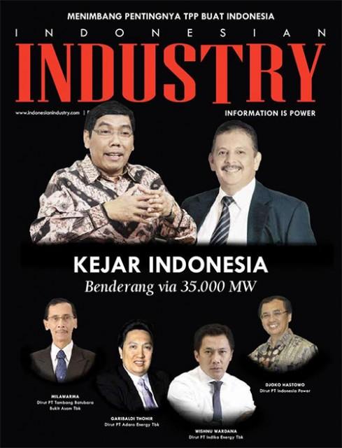 Kejar Indonesia Benderang via 35.000 MW