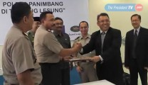 Penyerahan Tanah KEK Tanjung Lesung Untuk Gedung Polres