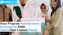 Kemenperin Pacu Program Santripreneur 2018
