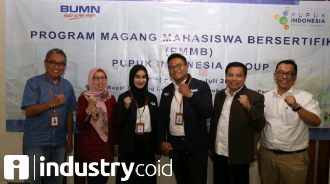 Pupuk Indonesia Launching Program Mahasiswa Bersertifikat