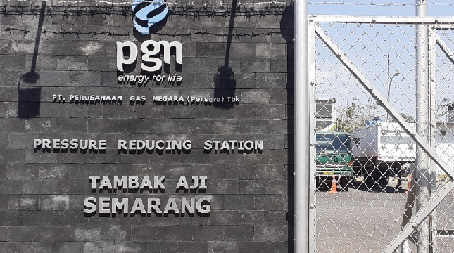 Pressure Reducing Station (PRS) Tambak Aji, Semarang (Foto: Ridwan/Industry.co.id)
