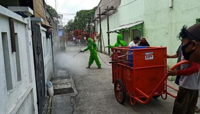 Supersol Giatkan Gerakan Bersih Bebas Kuman di Jabodetabek