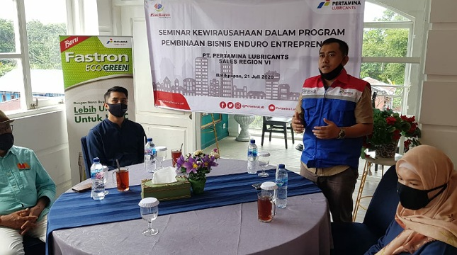 Program Enduro Entrepreneurship Program (EEP) Pertamina Lubricants