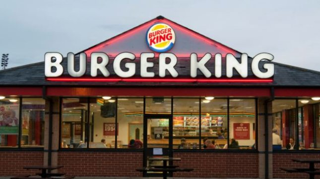 Gerai Burger King. (Foto: Daily Mail)