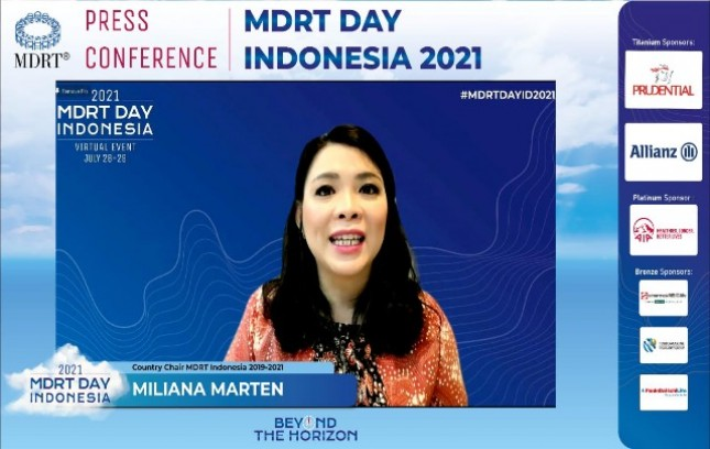 Country Chair MDRT Indonesia Miliana Marten