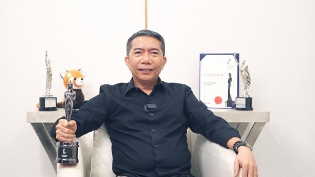 Direktur Human Capital Pegadaian Ridwan Arbian Syah