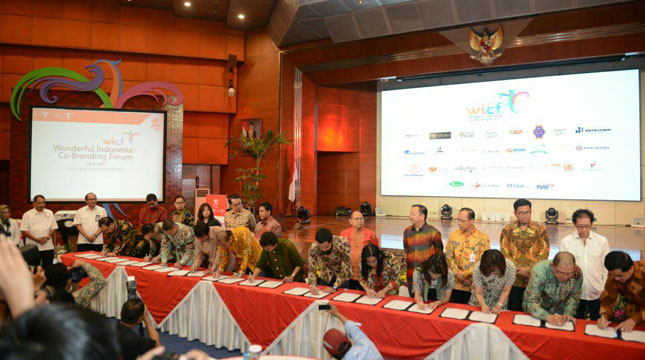 Wonderful Indonesia Co-Branding Forum (WICF) (Foto: Kemenpar)