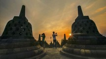 Candi Borobudur, Magelang, Jawa Tengah (Foto: @borobudurpark/Industry.co.id)