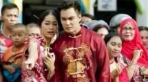 """Prisia Nasution dan Baim Wong dalam film """"Jejak Cinta"""""""