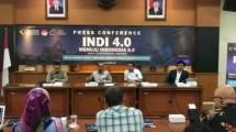 Kepala BPPI Kemenperin Ngakan Timur Antara saat konferensi pers INDI 4.0 menuju Industri 4.0 (Foto: Ridwan/Industry.co.id)