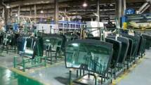 Ilustrasi Pabrik Kaca Lembaran