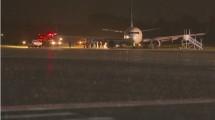 Pesawat Garuda Indonesia tergelincir di Yogyakarta. (Barcroft Media/Getty Images)