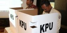 Ilustrasi TPS Pemilu serentak