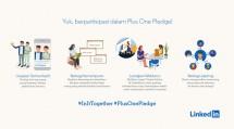 LinkedIn #PlusOnePledge