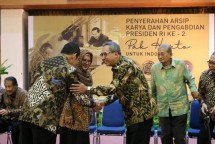 Keluarga Cendana Serahkan Dokumen Penting Presiden Soeharto ke Negara