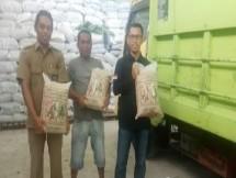 Simulasi pengiriman benih jagung dan padi