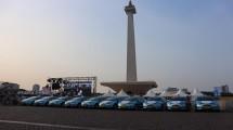 Kerahkan Armada E-Bluebird, Bluebird Dukung Gelaran Formula E di Jakarta