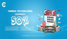 "Cashbac Kembali Hadirkan Promo ""Tanggal Tua, Rasa Muda"""