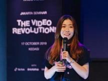 Vivi Wang, selaku Business Development Director Mobvista Asia Tenggara