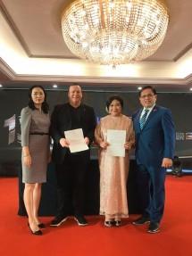Prita Kemal Gani - President of ASEAN PR Network and Founder & Director of LSPR Jakarta (kedua dari kiri)