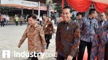 Presiden Joko Widodo pada pembukaan Indonesia Infrastruktur Week 2019 (Hariyanto/INDUSTRY.co.id)
