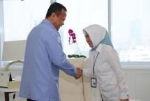 Direktur Utama Perum Perindo Farida Mokodompit