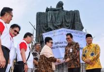 Pembangunan Patung Fatmawati sebagai icon Bengkulu