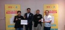 GIG by Indosat Ooredoo dan Audra menghadirkan Internet Sehat