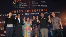 Konferensi pers The Meeting of Minds Forum 2019