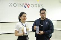 Frecy Ferry Daswaty VP of Marketing KoinWorks dan Jonathan Bryan Chief Marketing Officer KoinWorks