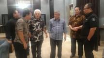 Dialog dengan Wakil Ketua Dewan Penasehat Serikat Media Siber Indonesia (SMSI) M. Hatta Rajasa, dan jajaran pengurus SMSI Pusat