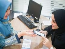 BNI Syariah memberikan value based reward berupa Assessment bacaan Al-Fatihah di Kantor Cabang BNI Syariah Banda Aceh