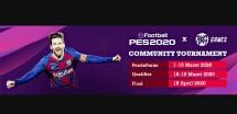 Hi Gamers...eFootball PES 2020 Mobile Community Tournament Resmi Dibuka Nih