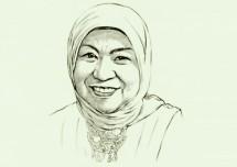 Nurhayati Subarkat Founder Paragon (Wardah) - foto Kontan.co.id