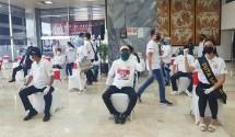MPR, Kadin Indonesia dan PWI berikan bantuan kesehatan hadapi Corona