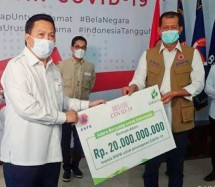 PT Adaro Energy Tbk berikan sumbangan Rp20 miliar ke BNPB Covid 19