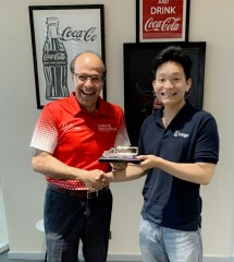 Presdir Coca Cola Amatil Indonesia dan CEO Kargo Technologies