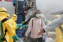 Penyemprotan Desinfektan (ist)