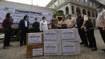 Pengusaha peduli NKRI serahkan bantuan 80ton alkes tangani coron
