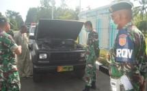 Cek Kesiapan Operasional Kendaraan, Brigif Para Raider 18/SEY Gelar Pemeriksaan