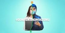 Kampanye donasikan ongkosmu yang diinisasi oleh perusahaan iklan global, Dentsu Aegis network